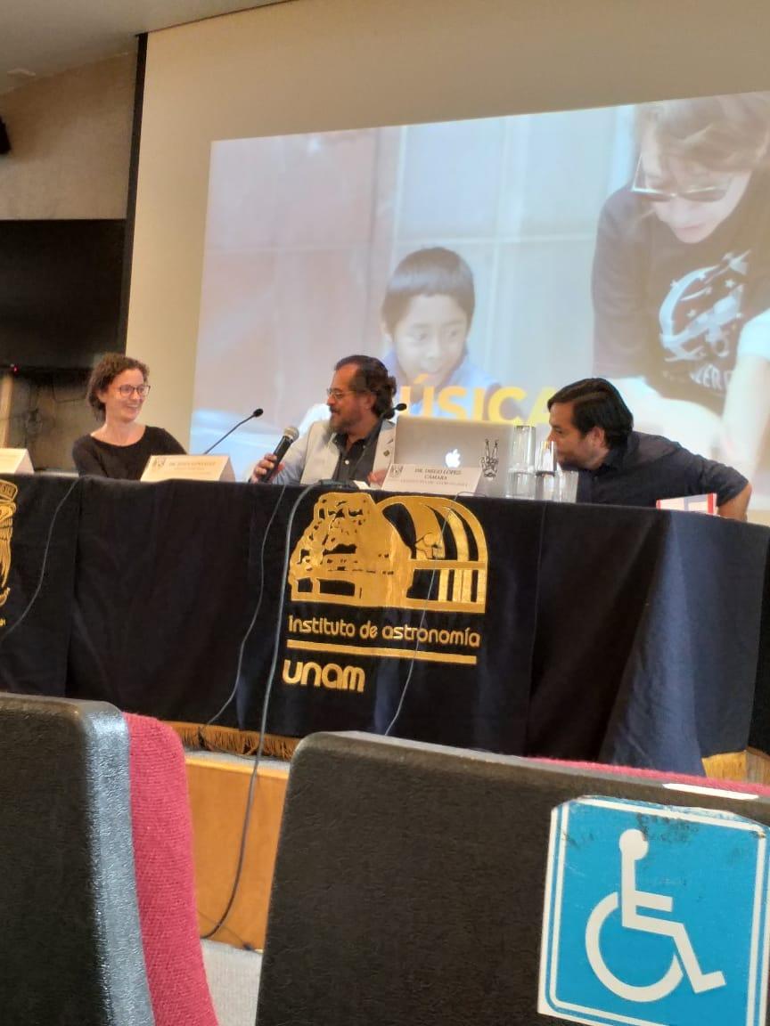 """Conferencia de prensa sobre el proyecto """"Estrelleros"""""""